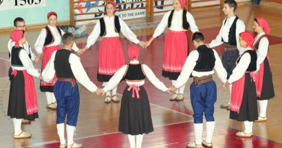Hkud Sv. Ante Cim nastupio na otvaranju VII međunarodnih sportskih igara umirovljenika