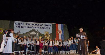 Proslavljen sveti Lovro u Orlacu