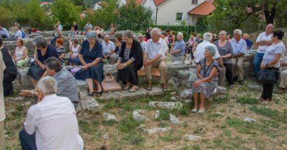 Misa na ostatcima ranokršćanske bazilike na Crkvinama u Cimu