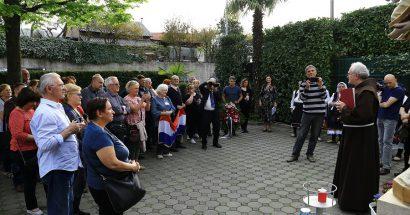 Hrvatsko žrtvoslovno društvo iz Zagreba u posjetu Hercegovini
