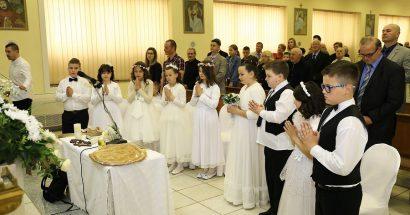 Prva sveta pričest u crkvi svete Barbare na Rudniku