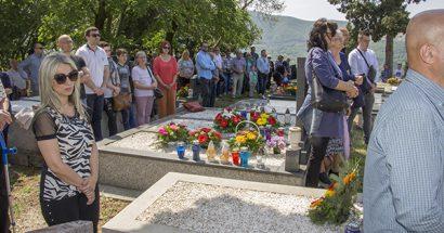 Blagoslov polja u groblju na Gorici