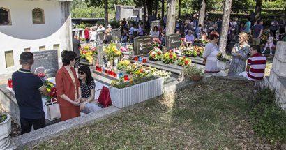 Blagoslov polja u groblju Kolenje