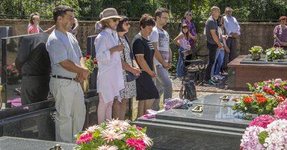 Blagoslov polja na groblju u Miljkovićima