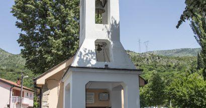 Krštenje u stoljetnoj crkvici Majke Božje u Vrelu Radobolje
