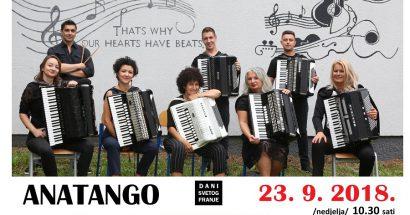 plakat koncert harmonike Anatango
