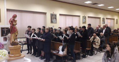 """Mješoviti pjevački zbor """"sv. Ante '39"""" gostovao u Danima svete Barbare na Rudniku"""