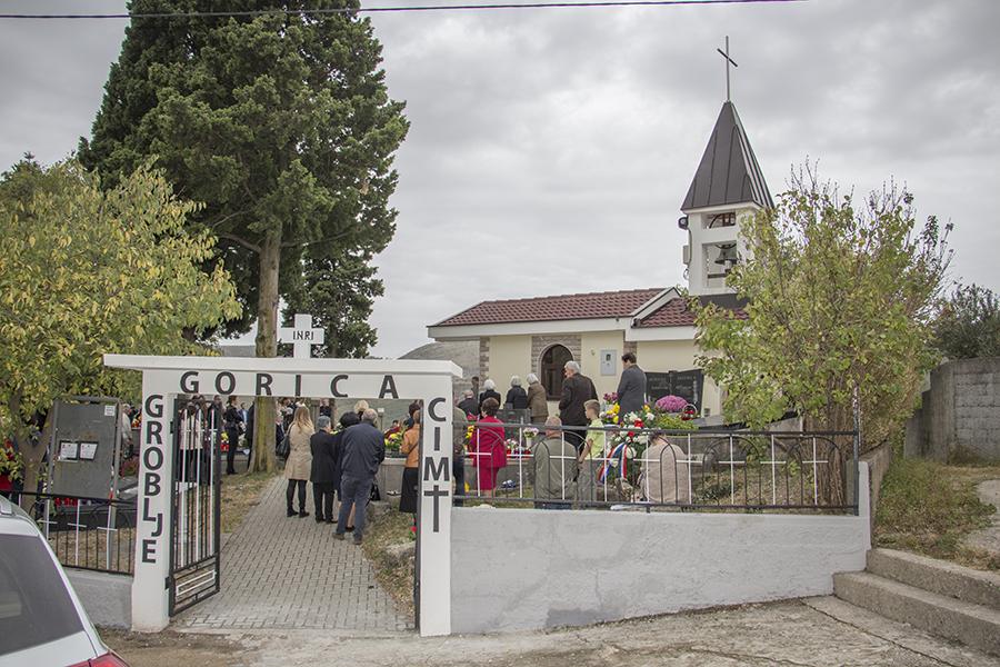 Svi sveti - groblje Gorica, 2018.