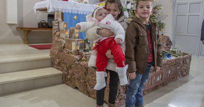 Božić u crkvi svetog Ivana Krstitelja u Miljkovićima