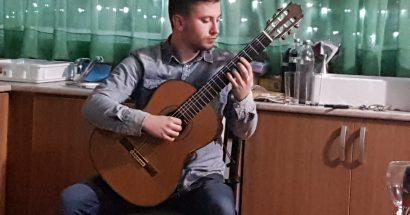 Uvod u koncert polaznika Međunarodne zimske škole gitare