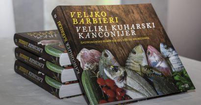 """Čapljina: Predstavljena knjiga """"Veliki kuharski kanconijer"""" velikog gurmana Veljka Barbijerija"""
