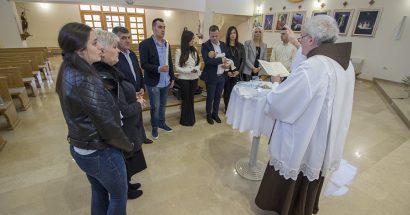 Krštenje u sv. Franji u Ilićima