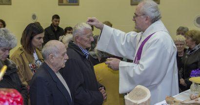 Sveta misa i obredi čiste srijede, pepeljanje na Rudniku