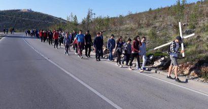 Čapljinci sa svojim fratrima hodočaste na Križevac