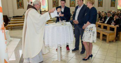 Krštenje u crkvi svetog Ante u Cimu