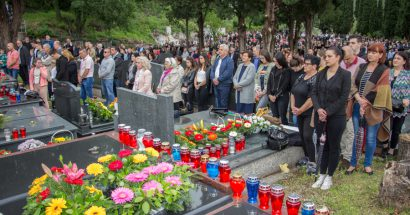 Blagoslov polja na groblju u Orlacu