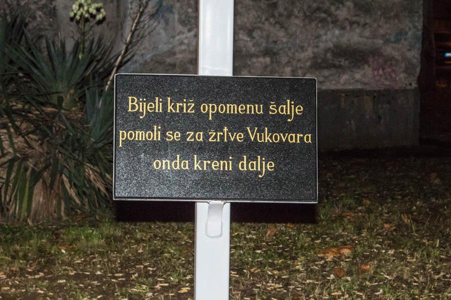 Blagoslov križa u Vukovarskoj 2019