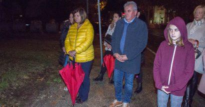 Blagoslov križa u Vukovarskoj ulici u Mostaru