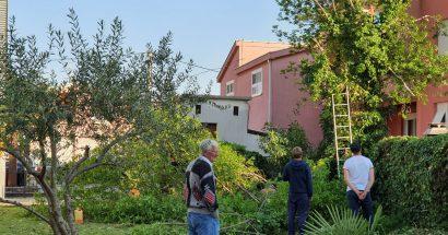 Uređenje dvorišta franjevačkog centra 'Sv. Barbara – Rudnik'