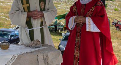 Služena sveta misa na Čabulji